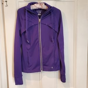 Champion Purple Zippered Sweater